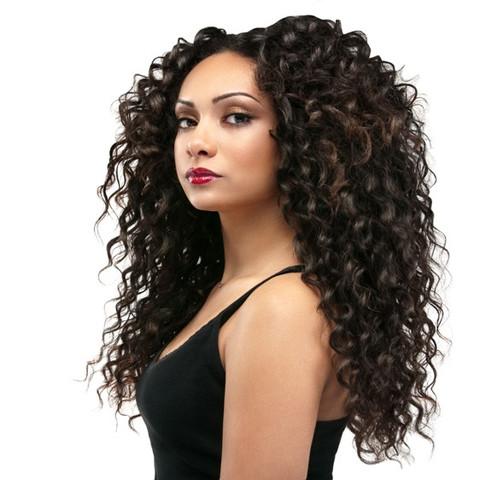 Virgin Peruvian Hair : Deep Curly  Virgin Peruvian...
