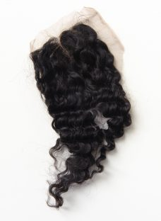 Brazilian Deep Curly Lace Closure